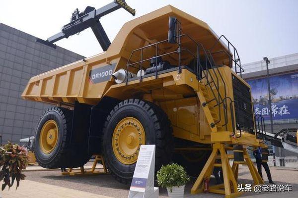 可独当一面!柳工DR100C的超级矿山车!