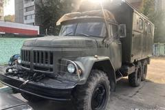 看似军车实为房车 俄罗斯街头的ZIL-131