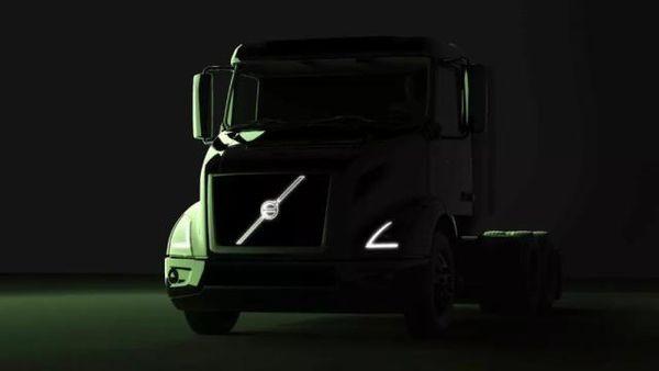 沃尔沃VNR纯电动卡车在北美投入试运营
