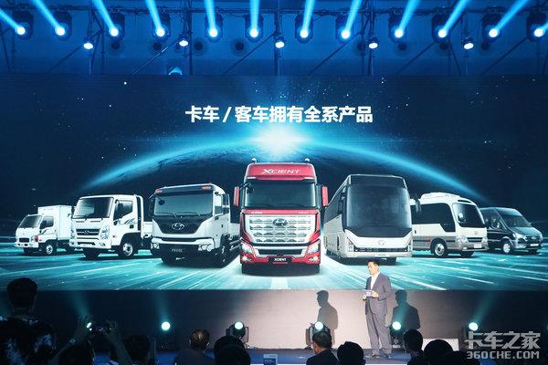 """氢燃料电池卡车改变未来货运?现代""""海王星""""亮相进博会"""
