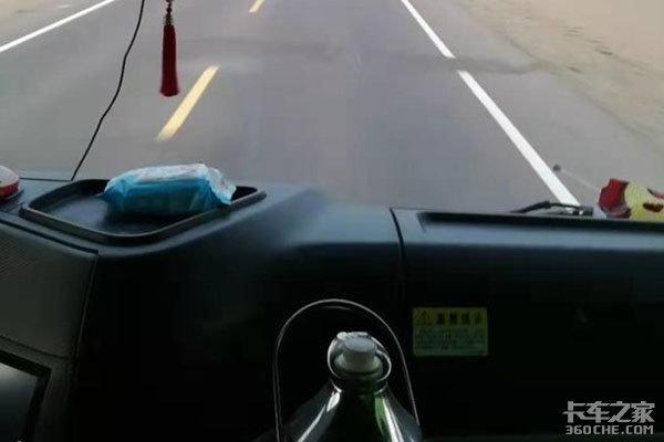 卡车人挣的不就是辛苦钱吗?在路上永远记得安全第一