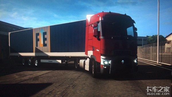 千呼万唤始出来欧洲卡车模拟2雷诺T重卡终于来啦!
