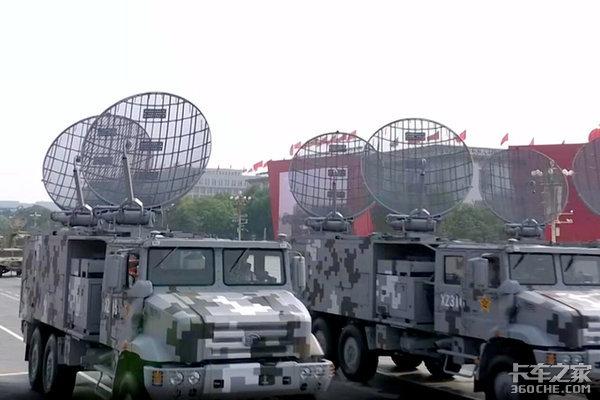 解放东风陕汽70周年阅兵都有啥卡车?