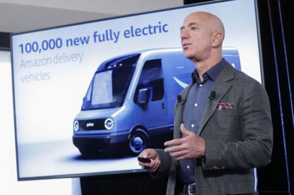 亚马逊:?助力全球电动货车市场崛起!