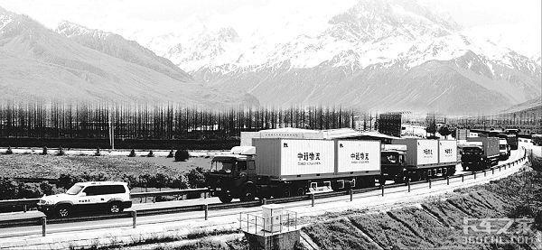 风雨七十年,货运行业的变迁,在卡车司机跨过的山和大海间