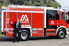 �R基路斯:�l布首款CNG燃料救援消防�