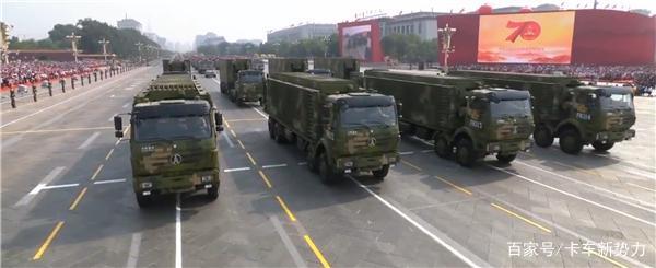 回顾国庆70周年阅兵场上的卡车这些品牌撑起国之重器