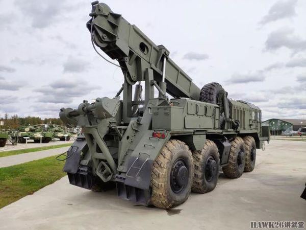库宾卡:现俄军最早辈的轮式抢救牵引车