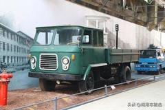 山城SC140型载货车 亮相重庆工业博物馆