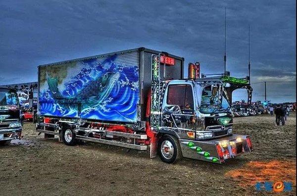 一篇读懂异域风情全球卡车文明大年夜盘点