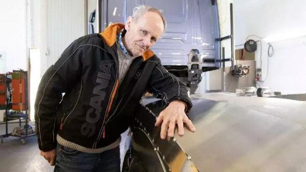 80岁的传奇卡车改装老人他改装的这些卡车让人叹服