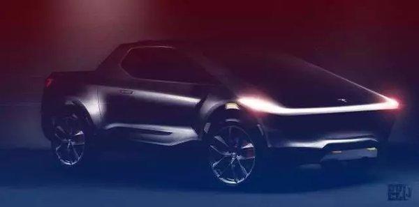 特斯拉电动皮卡:像未来的装甲运兵车!