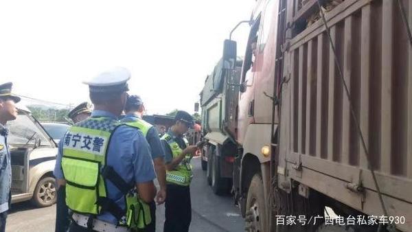 南宁出动执法人员2.87万人次7943起货车超载被查!