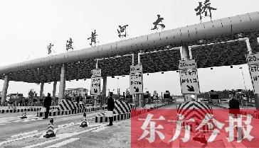 国道107官渡黄河大桥正式通车货车暂不可通行