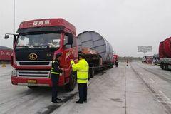 安徽对超限超载货车