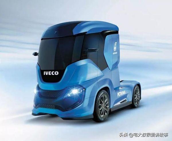 """""""零事故""""未来概念豪华大卡车让你上了车就不想下来"""