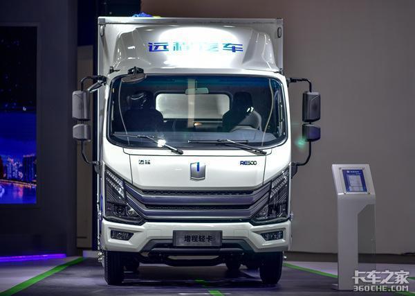 新能源技术路线是啥?增程式卡车:选我