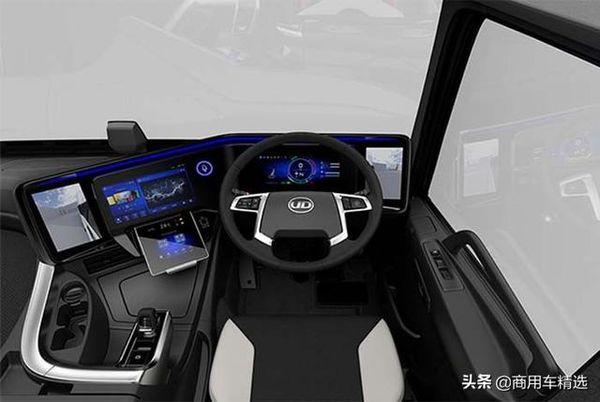 构想未来智慧物流UD在东京车展发布QuonConcept202X概念卡车