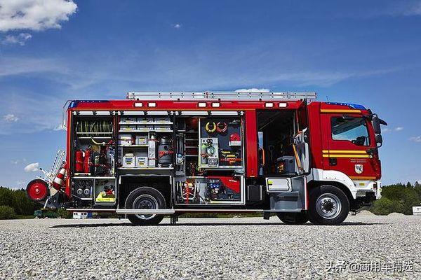 全球最著名的城市主战消防车卢森堡亚AT迎来25岁生日