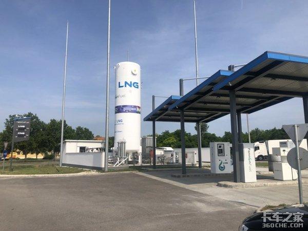 天空一声巨响,硬汉闪亮登场,欧洲这些LNG车型真够炫!