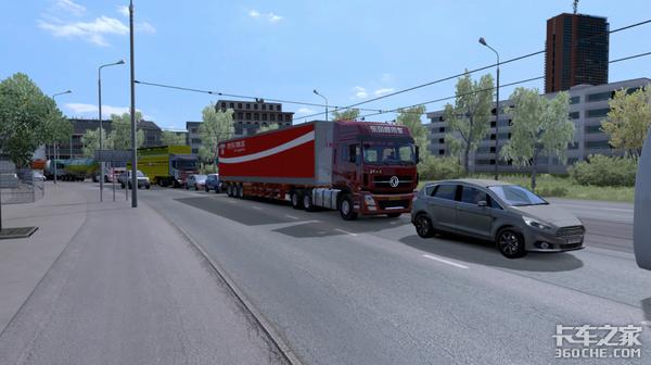 游戏不止是游戏:玩欧洲卡车模拟,幻想自己是真正的卡车司机