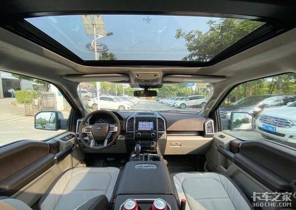 福特f-150新款到店,皮卡界的头等舱,差速锁加持,带你玩转越野!