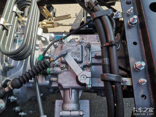 回归本位的表率:重汽豪沃轻卡动力排量减少,底盘配置轻量化