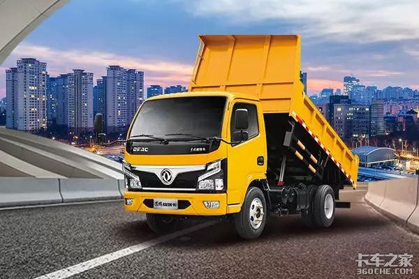 工程自卸车的赚钱秘籍,东风福瑞卡R5告诉你!
