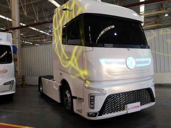 两款概念卡车看东风商用车的产品技术