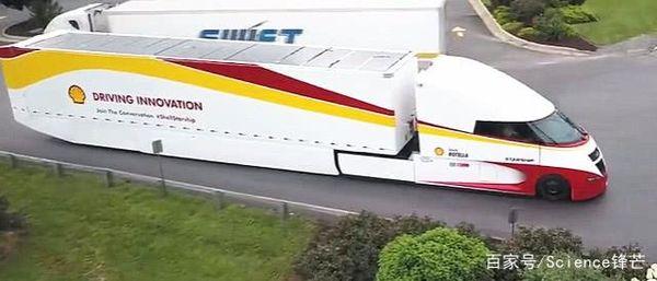 """老外发明""""子弹头""""省油卡车百公里油耗比普通卡车降低10升!"""