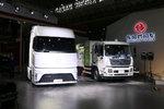 【中国商用车展】9大品牌34台中重卡齐亮相 这些车你最中意谁?