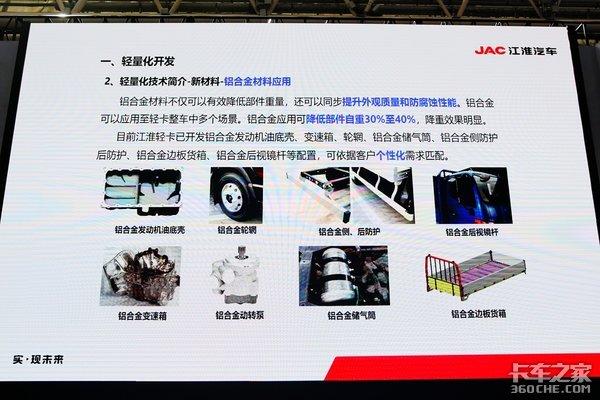 轻量化+智能化江淮全系国六新产品亮相