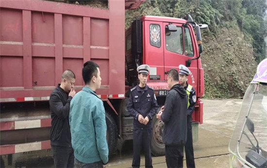 宝兴:四个举措加大货车查处力度全力保障道路交通安全