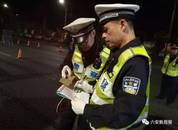 一晚查处183起!六安城区集中整治大货车违法行为!