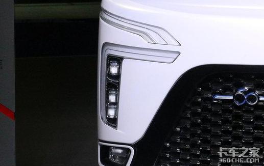 科技感时尚感十足,谁说卡车笨重老土,东风天龙概念车在线为您洗眼睛