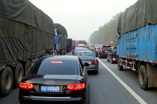 成都绕城高速这一段封闭施工延期至9日禁止机动车驶入