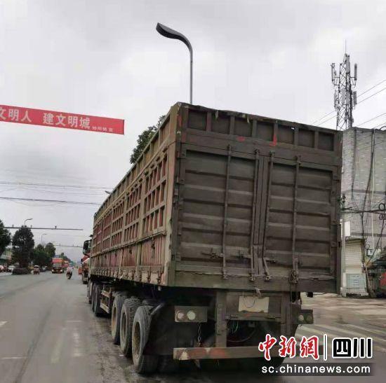 天全:查获6起货车非法改拼装违法行为