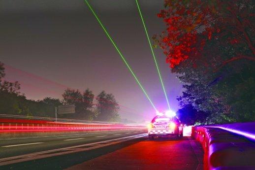 """""""绿色激光""""上线防高速夜间疲劳驾驶已在湖南多地推广"""