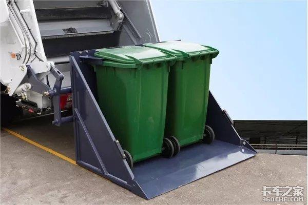两种压缩式垃圾车,看完不再傻傻分不清