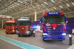 现场签单1600台 结合卡车驶入国六时代
