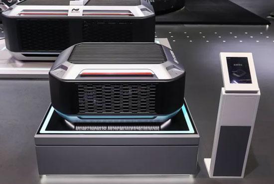 现代商用车:进博会展示氢燃料电池卡车