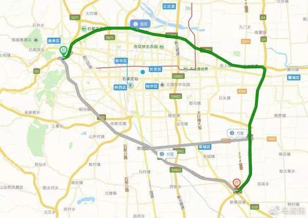 青银高速:跨线桥施工将改为半幅通行!