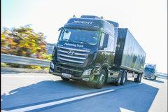 现代汽车进行卡车编队试验 车距16.7米