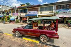柬埔寨的奇葩出租� �I�改成皮卡拉人