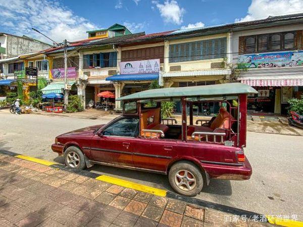 柬埔寨的奇葩出租车:轿车改成皮卡拉人在中国得被罚到怀疑人生