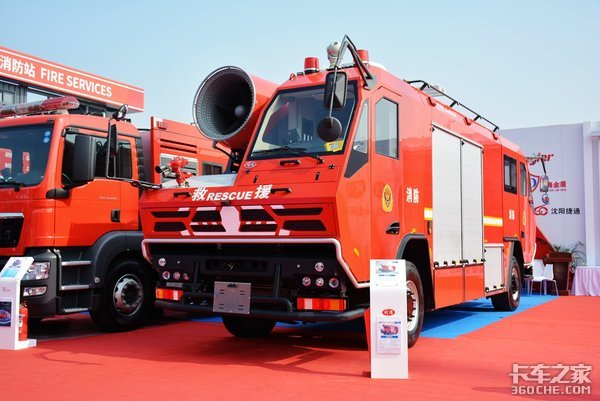 联合卡车出的双头消防车意义在哪里?