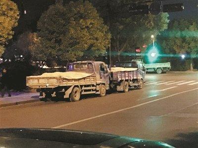 杭州交警:连夜查扣了这一批违法货车!