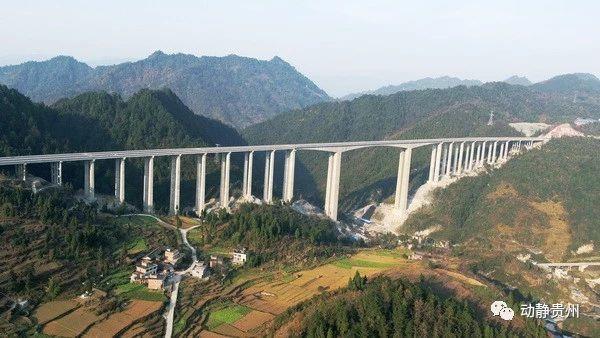 黔东南这条高速公路即将通车运营看看你会不会路过
