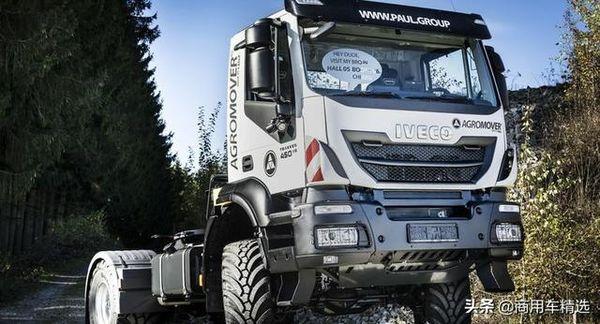 当奔驰改装伙伴PAUL遇到依维柯Trakker农用拖车亮相Agritechnica