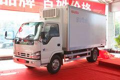 进军高端领域 庆铃原厂冷藏车亮相上海